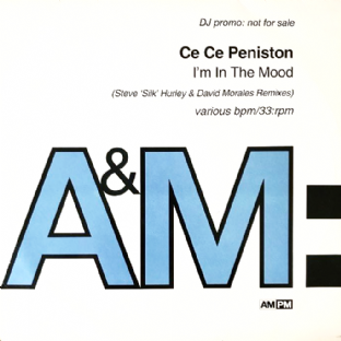 "Ce Ce Peniston ‎- I'm In The Mood (Hurley & Morales Remixes) (12"") (Promo) (VG-/G++)"